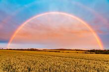 Double Rainbow Arching Over Ye...