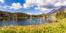 Switzerland, Canton Of Grisons...