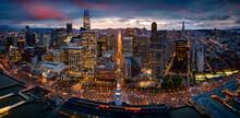 Sunset Over San Francisco Skyl...