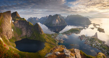 View Of Lofoten Islands During...