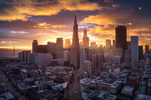 Aerial View Of San Francisco C...