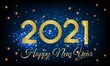 2021 Happy New Year Golden Number with Shining Background illustration - Happy New Year 2021 Golden Number vector on Shining Background - New Year 2021 Shining Background Vector with Golden text