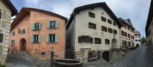 A Swiss Village Of Guarda In C...