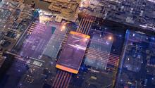 Smart Phone On Circuit Board