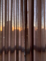Sunset Curtain