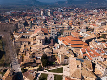 Aerial View Of Historic Centre...