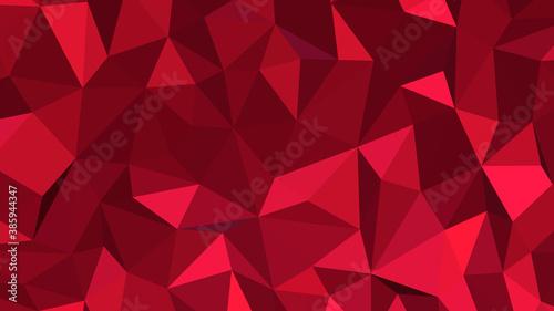 Crimson abstract background Canvas Print