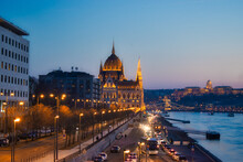 Hungarian Parliament Side View...