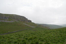 A Landscape From The Yorkshire Dales, On A Walk Stretching From The Village Of Settle To Malham.