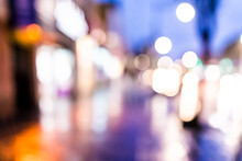 Abstract Bokeh Background Of N...