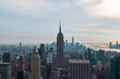 Foto del skyline de Nueva York desde Top Of the Rock