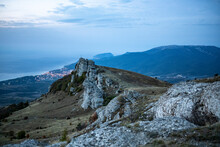 Panoramic View Of The Mountain...