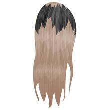 An Icon Showing Haircut Style Denoting Waterfall Braid Icon