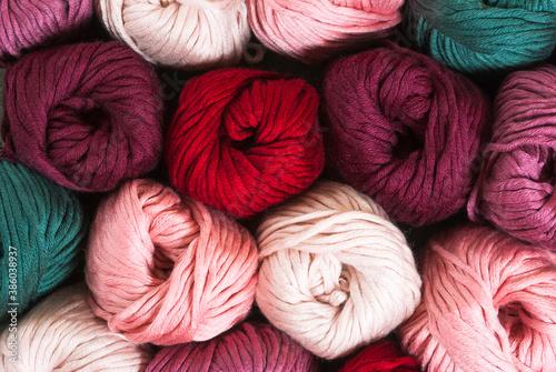 Fotografie, Obraz Balls of wool