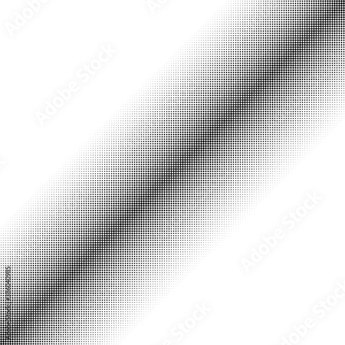 Squares halftone geometric background pattern and texture vector illustration Wall mural
