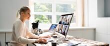 Online Learning Webinar Or Conference