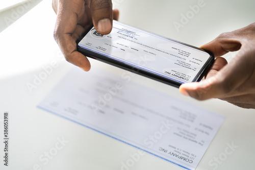 Fototapety, obrazy: Remote Check Deposit