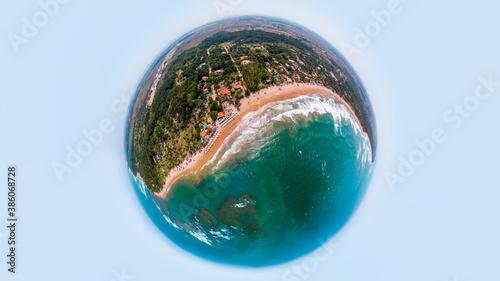 Fototapety, obrazy: Pequeno Planeta de Taipu de Fora, Bahia, Brasil