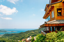 Panoramic View Of Jiufen Old T...
