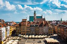 Market Square In Warsaw