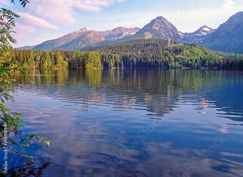 Photo Lake Strba, Slovakia