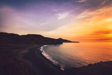 The Coast Of Fuerteventura In ...