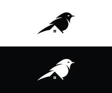 Bird Home Logo Design