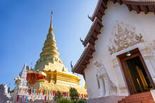 Wat Phra That Chae Haeng Ancient And Famous Temple In Nan Province ,Thailand