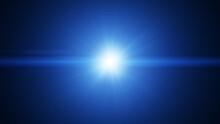 White Blue Flare Light Beam Ex...
