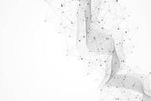 Abstract Plexus Background Wit...
