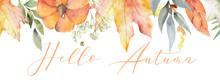 Autumn Blurred Background