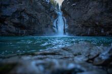 Buchenegger Wasserfälle Im Wi...