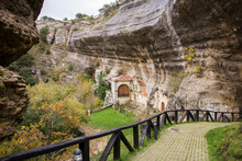 Beautiful Hermitage Built On Rock In A Magical Landscape