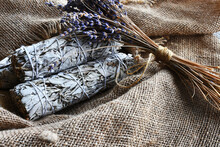 An Image Of White Sage Smudge ...