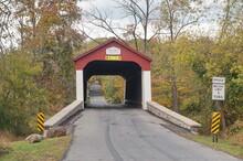 Approaching Van Sandt Bridge