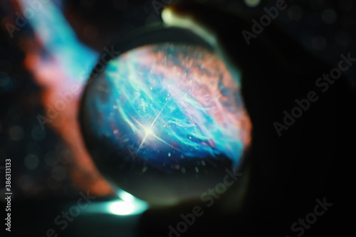 Astrological background Fotobehang