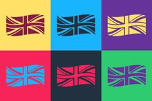 Pop Art Flag Of Great Britain ...