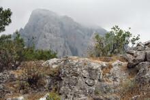 At Foot Of Mountain Peak. Takhtaly, Kemer, Turkey