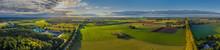 Sunny Panorama Of Rural Idyll ...
