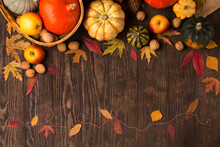 Dried Leaves, Pumpkins, Apples...