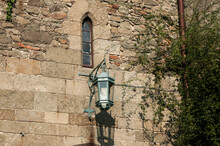 Forged Lantern On The Backgrou...