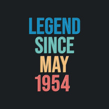 Legend Since May 1954 - Retro ...