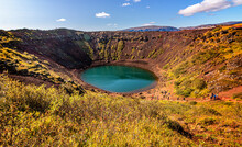 The Volcanic Crater Kerid On I...