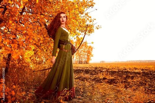 Vászonkép historical female costume
