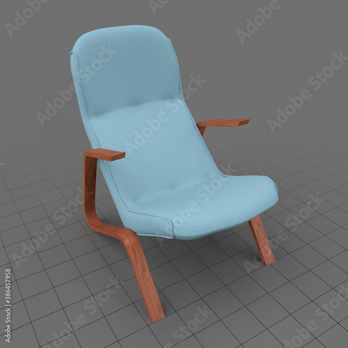 Obraz Retro chair - fototapety do salonu