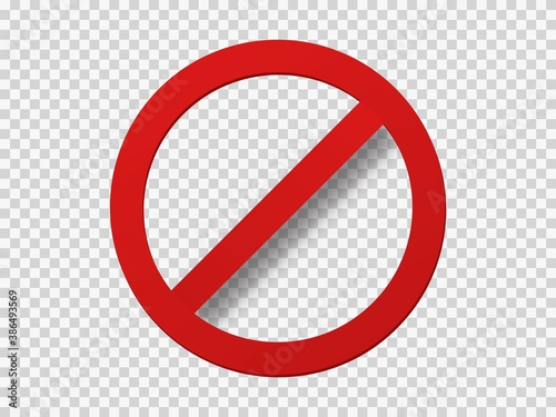 Photo Banned icon template