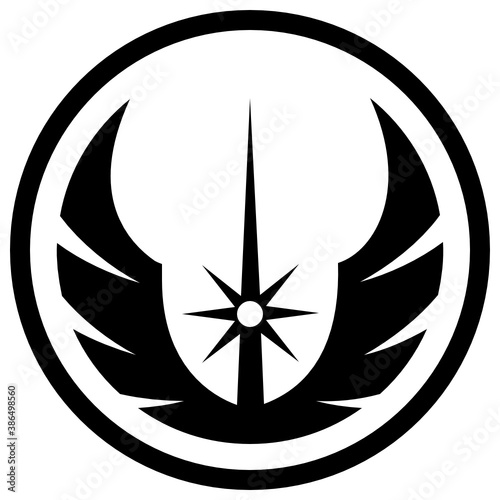 Icon of a sign used in star wars depicting rebel alliance