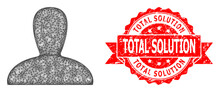 Grunge Total Solution Stamp Seal And Linear Spawn Persona Icon