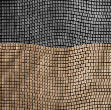 Wavy Stone Mosaic Background A...