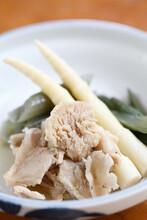 山菜料理たけのこブナハリタケ
